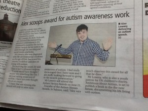 An article in the Flintshire Evening Leader