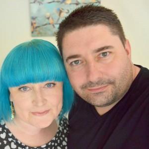 Karen with her lovely husband Craig