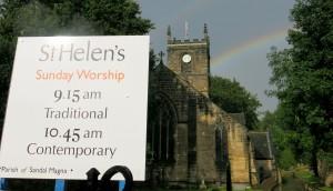 Karen and Craig's new Church.